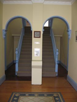 Generous open entry area